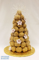 Croquembouche with Fruit Blooms (Swedish Bakery Chicago) Tags: cakes cake weddingcake croquembouche weddingcakes swedishbakery frenchweddingcake