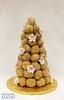 Croquembouche with Fruit Blooms (Swedish Bakery Chicago) Tags: cakes cake weddingcake croquembouche weddingcakes swedishbakery frenchweddingcake