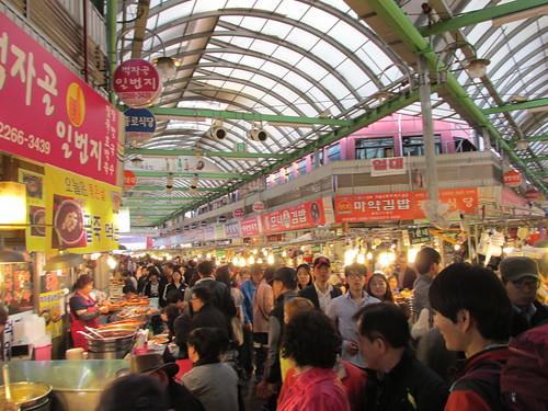Marché, Séoul,  Corée du Sud
