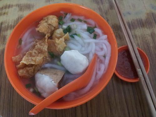 Repas au marché, Ipoh, Malaisie