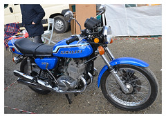 KAWASAKI 750 H2 (baffalie) Tags: old milan classic bike vintage italia retro motorbike moto italie ancienne fiera lombardie classicas