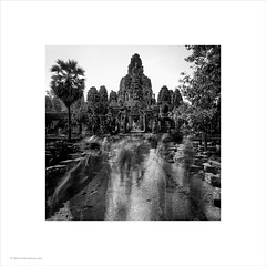 Bayon, Cambodia (Ian Bramham) Tags: longexposure temple photo buddhist tourists angkor bayon ianbramham