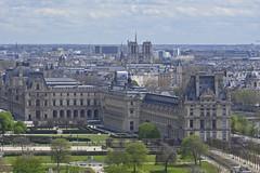 2016.04.14.032 PARIS - La grande roue,  le Louvre (alainmichot93) Tags: paris france seine architecture ledefrance jardin toit arbre parc mange palaisdulouvre placedelaconcorde granderoue 2016 parcdestuileries