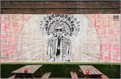 East End Street Art (Mabacam) Tags: streetart london wall painting graffiti stencil mural paint wallart urbanart shoreditch freehand publicart aerosolart spraycanart stencilling eastend endless 2016 urbanwall