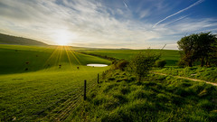 England's best (TanzPanorama) Tags: england sky sunlight green nature rural countryside flickr westsussex jerusalem wideangle pasture blake steyning sunstar ilce sonyalpha fe1635 fe1635mmf4zaoss sonya7ii ilce7m2 tanzpanorama
