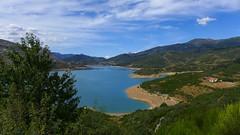 Himmelsblau (rimerbl) Tags: leica lake nature water landscape spain outdoor reservoir castillaylen riao embalsederiao leicadlux6 dlux6