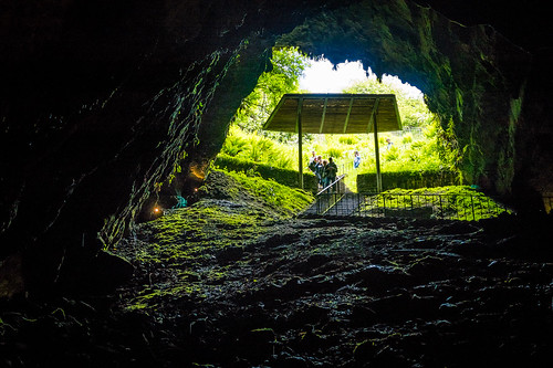 Dunmore Cave Entrance From Inside