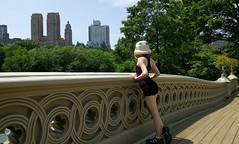 Bow Bridge, Central Park. (RedandJonny) Tags: park nyc usa newyork america starwars centralpark central stormtrooper bowbridge redandjonny stormtroopersinlove