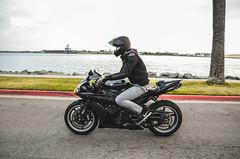 DSC_7092 (Steven Lenoir) Tags: ocean sea marina bay sandiego sd yamaha r1 sportbike harborisland dab superbike supersport bayfront streetbike 1000cc yamahar1 dabbing rollingshot teamyamaha