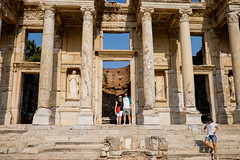 In the Doorway (_Codename_) Tags: architecture turkey ryan library columns cecilia ephesus libraryofcelsus rocktheshores