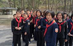 Maison de naissance de Kim Il Sung - Mangyngdae (jonathanung@ymail.com) Tags: lumix asia korea asie kp nord northkorea pyongyang core dprk cm1 koryo kimilsung coredunord insidenorthkorea rpubliquepopulairedmocratiquedecore rpdc mangyngdae lumixcm1