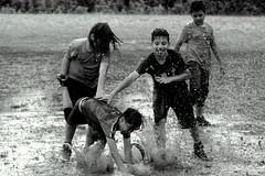 funny moment (asfal.TO) Tags: fun laughter splashingwater rainfootballfunnymomentflood