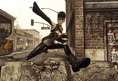 Outbreak  A world after tomroow (Wicca Merlin / Wicca's Wardrobe) Tags: new woman news art fashion pose hair blog 3d clothing model photographer modeling avatar goggles style blogger sl cap secondlife corset ghosttown undead zombies couture rp tightpants modelpose sys outbreak roleplay highfashion newrelease hod postapocalyptic azuchi virtualworld neckstrap newreleases modelposes frego endtime femaleclothing slfashion heavyboots 3dpeople peqe slclothing slstyle modelingpose aopcalyptic modelingposes fashionposes wiccamerlin femalewear houseofdarcy metavirtual fashioninpixels realevilindustries we3rp weloverp weheartrp outbreaksl dayaftertomroow wiccaswrdrobe