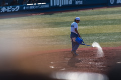 under the sun (ken_tsuda) Tags: blue people japan lens prime tokyo nikon cityscape baseball bokeh telephoto f2 yokohama nikkor 200mm kentsuda 20160515hbaseball8041