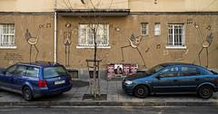 Disruption (The New Motive Power) Tags: street city urban building art cars wall graffiti sofia bulgaria   canon7d