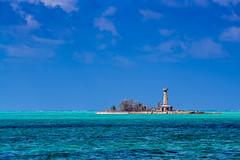 The Lonely Lighthouse (m e a n d e r i n g s) Tags: lighthouse philippines worldheritagesite puertoprincesa palawan atoll tubbataha tubbatahareef sulusea tubbatahareefsnaturalpark southatoll