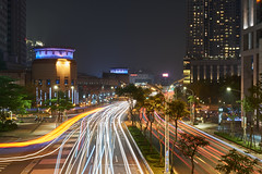 Car Trail (yiming1218) Tags: light painting gm cityscape nightscape sony taiwan taipei fe f28 2470mm gmaster banqiao cartrail a7rii a7r2 a7rm2 ilce7rm2 sel2470gm