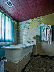 A Soothing Bath to Calm the Spirit (Entropic Remnants) Tags: pictures abandoned photography photo fuji image photos pics picture pic images photographs photograph fujifilm exploration asylum f4 remnants urbex statehospital entropic xt1 embreeville 1024mm embersville