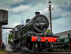 7F Portrait (Peter Leigh50) Tags: work leicestershire central railway sd railways gala loughborough 280 greatcentralrailway gcr 7f sdjr 53808