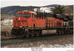 BNSF ES44C4 6810 (Robert W. Thomson) Tags: railroad train montana diesel railway trains locomotive trainengine ge bnsf elliston burlingtonnorthernsantafe gevo es44 evolutionseries sixaxle es44c4