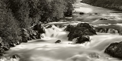 Vancouver And Whistler Trip 08 - 23-Apr-2016 to 08-May-2016 (f/13 photography) Tags: sea sky bw white black max water river landscape whistler flow one highway long exposure 10 n boulder stop 12 f56 phase 90mm squamish alpa rodenstock p45 10stop hrsw