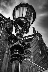 AGH_4612-2 (andrewhardyphotos) Tags: travel bw holland netherlands lamp amsterdam blackwhite dam sigma1750mmf28exdcoshsm nikond7200