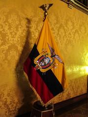 """Quito: le drapeau équatorien <a style=""""margin-left:10px; font-size:0.8em;"""" href=""""http://www.flickr.com/photos/127723101@N04/27370800051/"""" target=""""_blank"""">@flickr</a>"""