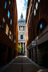 St Pauls Cathedral (NoahMP1) Tags: saint pauls saintpauls stpauls paul london england greatbritain uk unitedkingdom capital canon eos eos700d colors colorful colours colour clarity contrast street perspective cathedral church londoncathedral