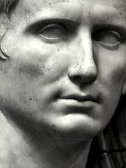 Ancient Rome. Marble portrait of Emperor Caesar Augustus (close up), 1st century BCE (mike catalonian) Tags: portrait detail marble emperor ancientrome 1stcenturybce caesaraugustus