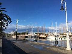 #barcelona (wanda.w) Tags: barcelona sea espaa port mar spain meer meri spanien hispaania