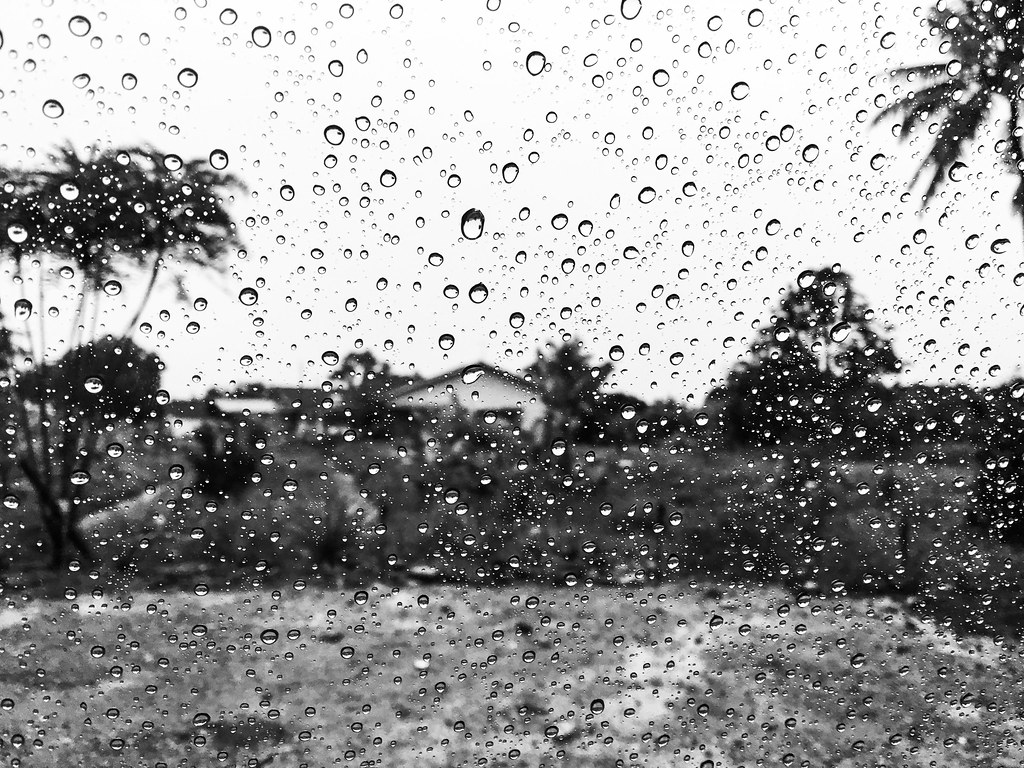 Wallpaper iphone hujan - Hujan 1 Jailanish Tags Rain Hujan Melaka Semabok Kampung Iphone6splus Iphone Bw