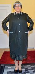Ingrid022429 (ingrid_bach61) Tags: dress mature kleid kittel pleatedskirt nylonoverall faltenrock