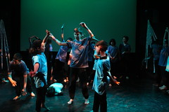 Stages of Half Moon - Equinox Youth Theatre, Hopscotch Hypnosis, 1 July 2016 (8) (Half Moon Theatre) Tags: moon youth theatre stages half equinox halfmoon halfmoontheatre