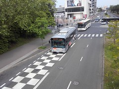 Lacroix rseau Valoise Heuliez GX 337 hyb EB-833-MS n1030 & Setra S 417 UL BM-309-SL (95) n856 (couvrat.sylvain) Tags: bus cars car mercedes s mercedesbenz c2 autobus ul 337 lacroix beauchamp 417 setra autocar gx cergy citaro heuliez hybride heuliezbus valoise s417ul gx337