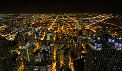 Vantage point (DILLEmma Photography) Tags: orange streets skyline night exposure view nightshot horizon perspective parallel vantagepoint lightstreams viewfromabove erspective