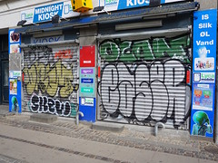 Graffiti in Copenhagen 2016 (kami68k []) Tags: up copenhagen graffiti chrome illegal kopenhagen bombing throw skew throwup ocan 2016 easer drem