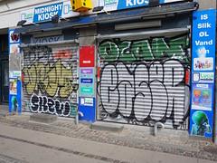 Graffiti in Copenhagen 2016 (kami68k -all over-) Tags: copenhagen kopenhagen 2016 graffiti illegal bombing throwup throw up chrome drem skew ocan easer eazer