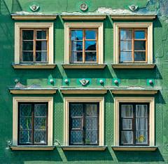 Okna (tyranus_86) Tags: city urban color building green window colors architecture europe cityscape citylife poland polska warsaw warszawa nikond3200 urbanstyle nikonpoto