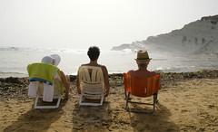 jole_Lucio_Maria_Scala_dei_Turchi_5077 (Manohar_Auroville) Tags: girls sea italy white beach beauty seaside rocks perspectives special scala sicily luigi dei agrigento fedele turchi scaladeiturchi manohar