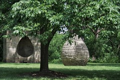 Three Cairns | Andy Goldsworthy (Cybergabi) Tags: iowa sculpturegarden desmoines andygoldsworthy desmoinesartcenter