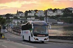 Through The Night To Sea & Dawn (Better Living Through Chemistry37) Tags: volvo transport vehicles elite vehicle publictransport torquay coaches psv nationalexpress plaxton torbayroad route404 b9r plaxtonelite 290we volvob9r coachesuk