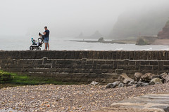 Day out in misty Dawlish K3__0062.jpg (screwdriver222) Tags: sea england mist beach pier pentax unitedkingdom pebbles devon k3 dawlish tamron2875f28xrdi