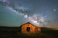 County Barn (dsafanda) Tags: nightphotography night bodie sierranevada milkyway easternsierra bodieghosttown