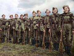 Central Women's School of Sniper Training, 1943 (klimbims) Tags: wwii sniper ww2 1943 redarmy   sovietfemalesnipers