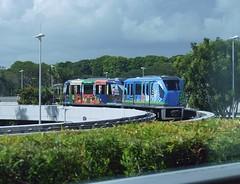 airport terminal shuttle (sth475) Tags: railroad train airport singapore railway shuttle changi skytrain rubbertyred
