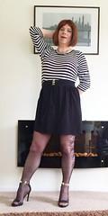 (helenwheninnylons) Tags: stockings highheels heels ladyboy crossdresser tgirl tranny crossdress tg transgender crossdressing shemale