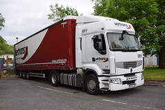 Sertrans Renault Premium BN 84 AGV (5asideHero) Tags: bn renault trucks premium romanian 84 agv sertrans