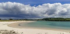 Front nuageux (Herb) Tags: cloud beach river brittany bretagne rivire nuage plage nube plougoulm anseduguillec