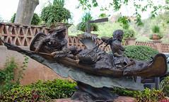 DSC_0093 (1Reflection) Tags: arizona statue sedona sedonaarizona