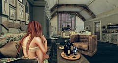 Quiet...  (Feeling_Constantine) Tags: life horse house fall home apple photo blog junk women flickr solitude quiet peace photographer wine mesh ad blogger sl sofa second feeling thor th trompeloeil ionic whatnext analogdog applefall
